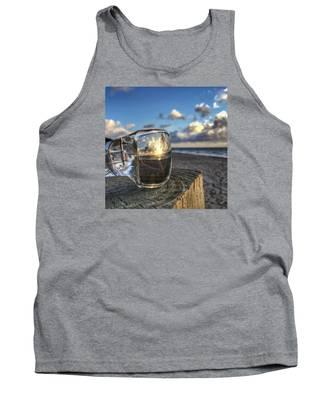 Reflecting Sunglasses Tank Top