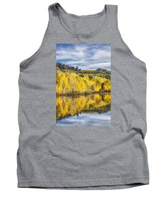 Reflection With Ophir Needles I Tank Top