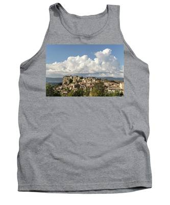 Saignon Village Provence  Tank Top by Juergen Held