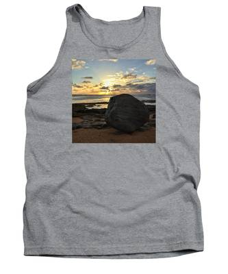 Shining Over The Boulder  Tank Top