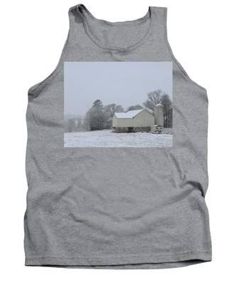 Winter White Farm Tank Top