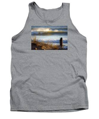 Sun Kissed Waves Tank Top