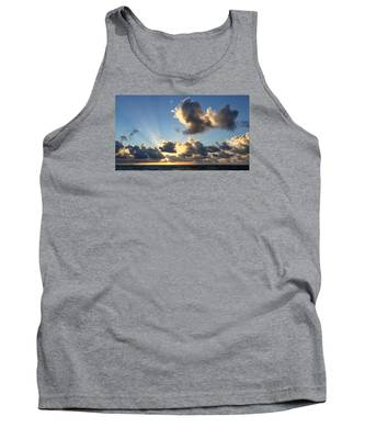 Sun Rays And The Cloud Tank Top