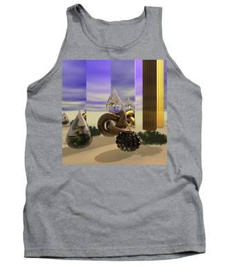 Tears In The Desert Tank Top
