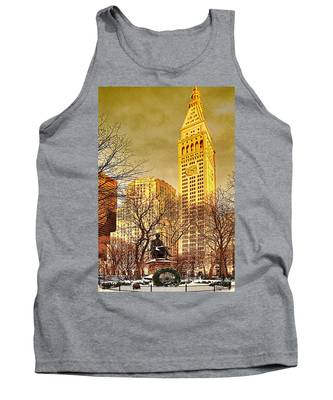 Ten Past Four At Madison Square Park Tank Top