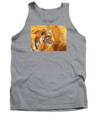 Tiger Tiger Burning Bright Tank Top