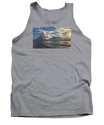 Tranquil Fisherman Tank Top