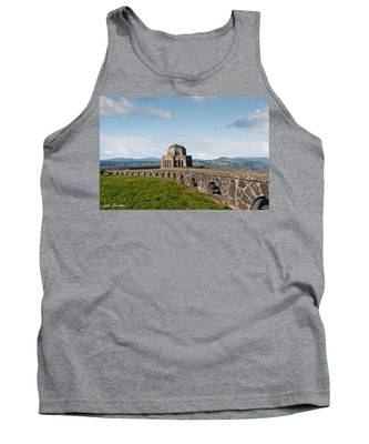 Vista House At Crown Point Tank Top