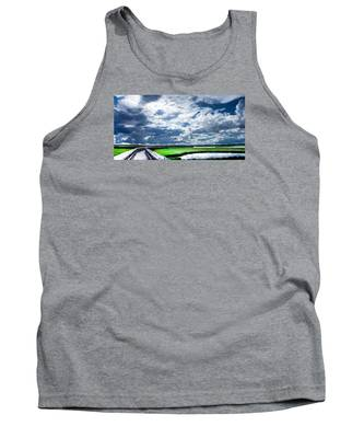 Walk With Me In The Sky Tank Top