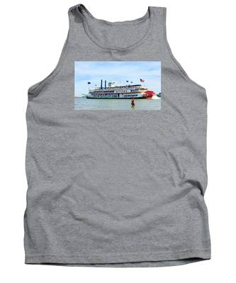 Woman Meets Natchez Tank Top