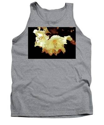 Creamy Rhododendron Tank Top