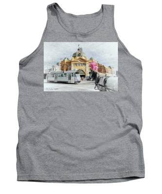 Flinders Street Station, Melbourne Tank Top