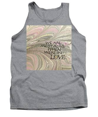 In Love Tank Top