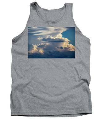 Tank Top featuring the photograph September Storm Chasing 015 by NebraskaSC