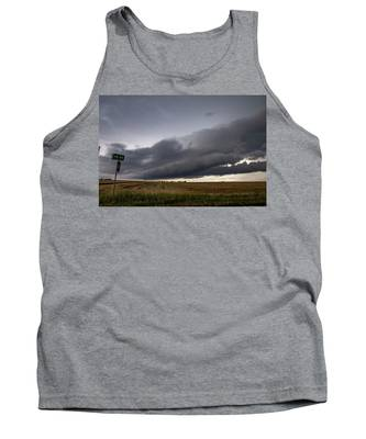 Tank Top featuring the photograph Storm Chasin In Nader Alley 004 by NebraskaSC