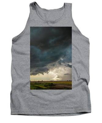 Tank Top featuring the photograph Storm Chasin In Nader Alley 012 by NebraskaSC