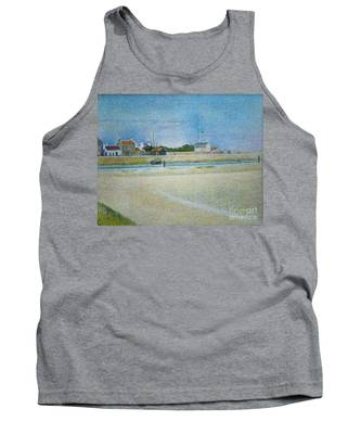 The Channel Of Gravelines Grand Fort Philippe Tank Top