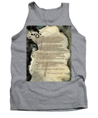 The Tale Of Two Wolves Tank Top