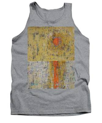 Tidepool Reflection Original Painting Sold Tank Top