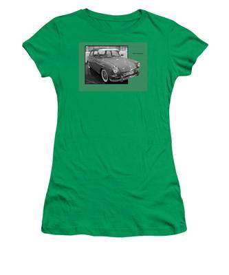 1965 Vw Notchback Women's T-Shirt