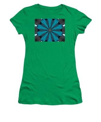 A Burst Of Blue Women's T-Shirt