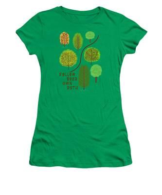 Path Women's T-Shirts