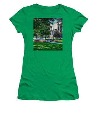 Summer In Juckett Park Women's T-Shirt