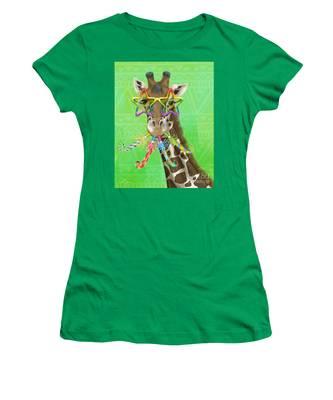 Party Safari Giraffe Women's T-Shirt