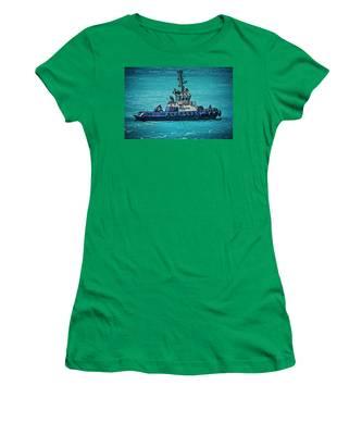 Salvage Tug Boat Women's T-Shirt