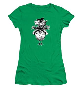 Turkey And Pig Women's T-Shirt