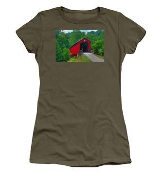 Hune Covered Bridge Women's T-Shirt