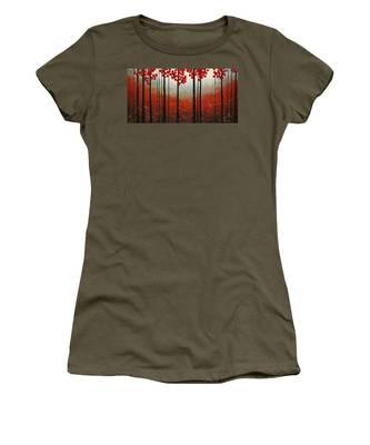 Red Blossom Women's T-Shirt