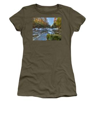Squaw Rock - Chagrin River Falls Women's T-Shirt