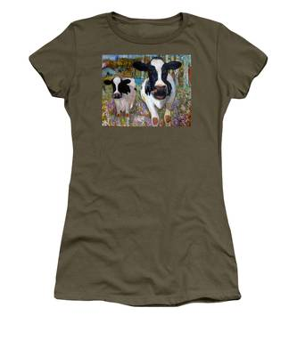 Up Front Cows Women's T-Shirt
