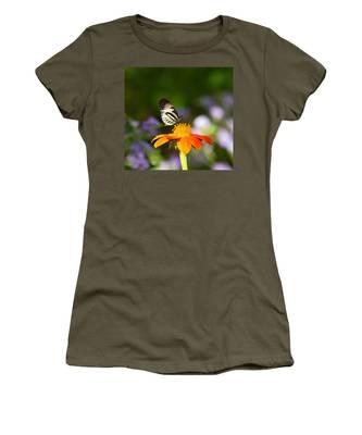 Piano Key Butterfly Women's T-Shirt