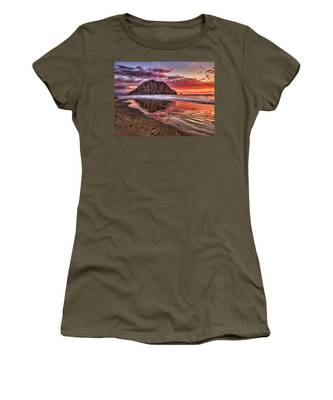 Crimson Sunset Women's T-Shirt