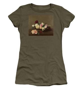 A Basket Of Roses Women's T-Shirt