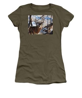 A Buck In The Bush Women's T-Shirt