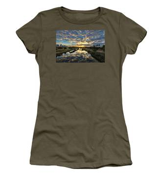 A Magical Marshmallow Sunrise  Women's T-Shirt