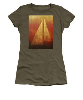 Abstract Sail Women's T-Shirt