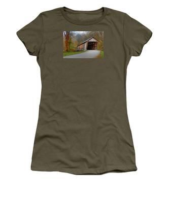 Bennett Mill Covered Bridge Women's T-Shirt