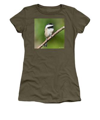 Black Capped Chickadee Women's T-Shirt