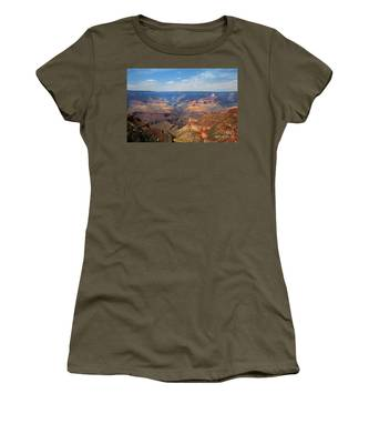 Women's T-Shirt featuring the photograph Bright Angel Trail Grand Canyon National Park by Jemmy Archer
