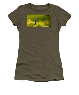 Bronx Zoo Peacock Women's T-Shirt
