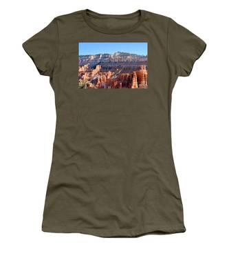 Women's T-Shirt featuring the photograph Bryce Amphitheater by Jemmy Archer