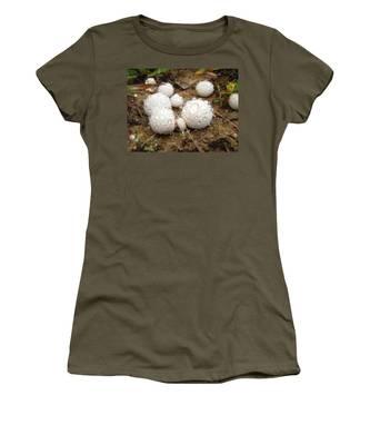Common Puffball Dewdrop Harvest Women's T-Shirt