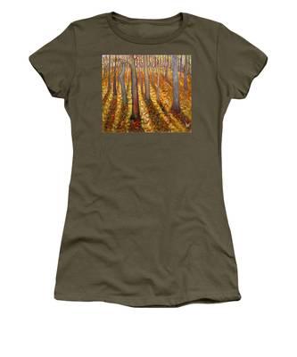 Dancing Trees Women's T-Shirt