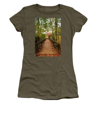Decorate With Leaves - Holmdel Park Women's T-Shirt