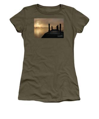 Dockside And A Good Morning Women's T-Shirt