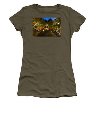 Evening Canal Dinner Women's T-Shirt